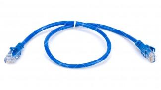Патч-корд UTP Cat5 8Р8С- 8Р8С синий 0.5 метра