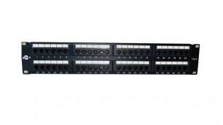 """Патч-панель ATCOM 19"""" 48 портов UTP Cat.6 (P6048)"""