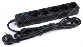 Фильтр сетевой B530 5 розеток 3 метра черный