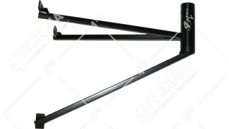 """Кронштейн """"трехлапый"""" (вынос 55 см.) черный"""