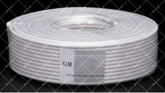 Кабель коаксиальный KLM RG660BV-W 100 метров 75 Ом