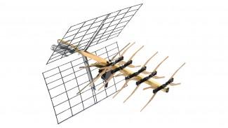 Т2 антенна Funke ABM 4527 наружная активная 5V