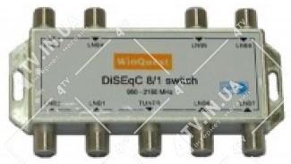 DiSEqC 8х1 WinQuest GD-81A внутр.
