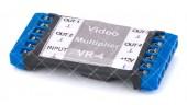 VR-4 видеоразветлитель активный на 4 выхода