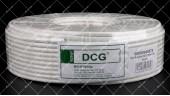 Коаксиальный кабель DCG RG-6 (100 м.) 75 Ом белый
