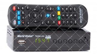 World Vision T625A LAN DVB-T2 + обучаемый пульт