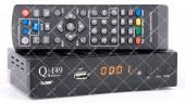 Q-SAT Q-149 DVB-T2 AC3  + пульт обучаемый