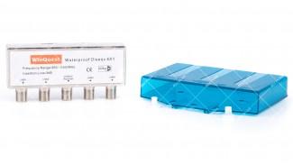 DiSEqC 4х1 WinQuest Waterproof кожух