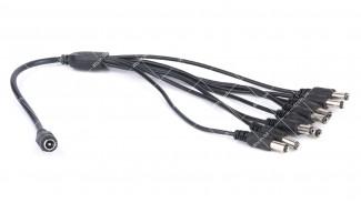 Делитель питания DC-F на 8 DC-M (5,5x2,1мм) кабель длиной 40см