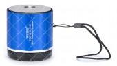 Колонка портативная WSTER WS-231BT Bluetooth синяя
