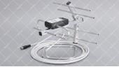 Т2 антенна Yagi 6KA (12 дб) кабель 5м со штекером комнатная