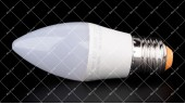 Лампочка cветодиодная LEDSTAR 9W E27 4000K STANDARD C37 (СВЕЧКА)