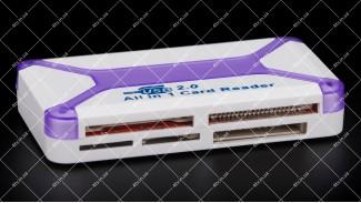 Считыватель флеш-карт ATcom TD2053 ALL IN1
