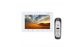 Комплект видеодомофона Slinex SM-07M + IM-10