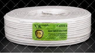 Кабель сигнальный VKcable 6x0.22 CCA 100 метров
