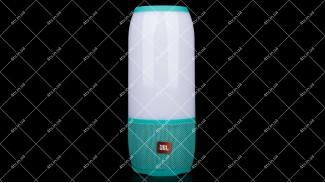 Колонка портативная с подсветкой JBL PULSE 3 Bluetooth зеленая copy