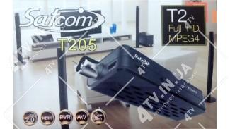 Satcom T205 PVR FTA DVB-T2