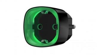Умная розетка Ajax Socket со счетчиком энергопотребления черная