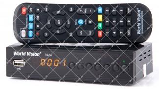 World Vision T62A DVB-T2 + обучаемый пульт