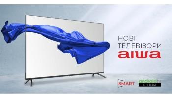 Нові моделі телевізорів AIWA з ліцензійним Android TV