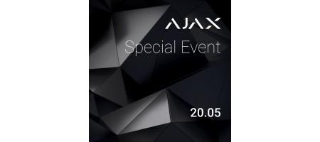 Ajax Special Event! Триває безкоштовна реєстрація!