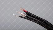 Кабель коаксиальный FinMark F690BVM-2x0.75 305 метров 75 Ом с тросом черный