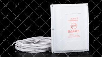 GSM/3G/4G антенна панель RAZOR 1700-2200 MHz 15dB с кабелем 10м