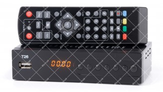 T26 (GoldenStream / uClan / u2c) DVB-T2 + пульт обучаемый
