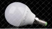 Светодиодная лампочка LEDEX 6W E14 4000K PREMIUM G45 (ШАРИК)