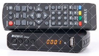 Simax T2 Green HD IPTV DVB-T2