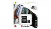 Карта памяти microSDXC Kingston 128GB Canvas Select Plus Adapter (SDCS2/128GB)