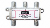 Сплиттер 4-WAY Splitter DATIX S4S DS с проходом питания