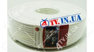 Коаксиальный кабель Воля Electronics RG6U 48W copper Медь (100 м.) 75 Ом белый