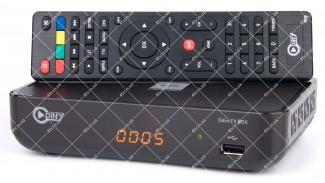 Odin TV Box DVB-T2 LAN H.265 WIFI
