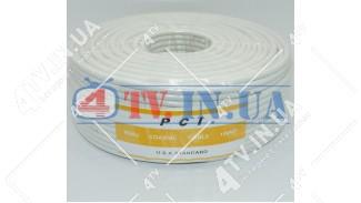 Коаксиальный кабель RCI RG-6 (100 м.) 75 Ом белый