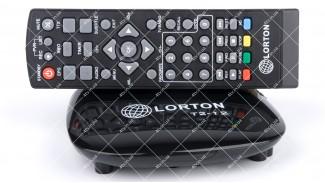 LORTON T2-12 Dolby Digital AC3 пластик УЦЕНКА