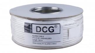 Кабель сигнальный DCG AlarmCable 4core BC unsh 100 метров