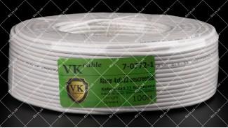 Кабель сигнальный VKcable 4x0.22 CCA 100 метров