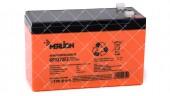 Батарея аккумуляторная Merlion AGM GP1272F2 Premium 12V 7.2 Ah оранжевая