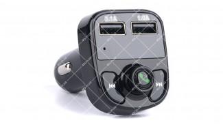 FM-трансмиттер HY82, microSD + Bluetooth + 2xUSB
