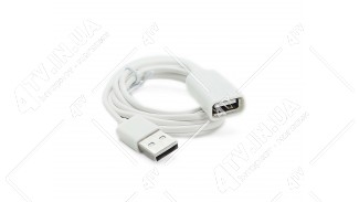 Шнур удлинитель USB 2.0 Female to Male 1m