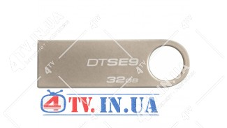 USB 2.0 Kingston DT SE9 32Gb Silver металл (DTSE9H/32GB)