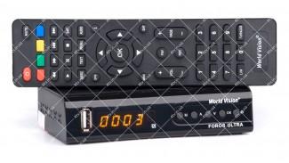 World Vision Foros Ultra Combo DVB-T2/S2