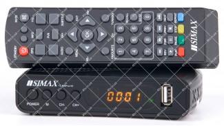 SIMAX T2 RedPlus HD IPTV DVB-T2