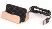 Док станция для зарядки USB micro с шнуром USB
