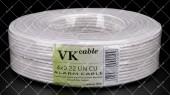 Кабель сигнальный VKcable 4x0.22 Cu 100 метров