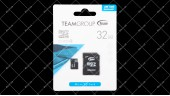 Карта памяти microSDHC Team 32GB class 10 adapter SD