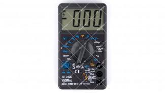 Мультиметр цифровой DT-700C звук + температура