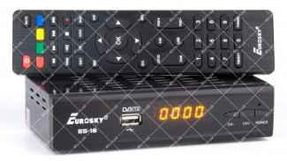 Eurosky ES-18 IPTV металл DVB-T2 УЦЕНКА!!!