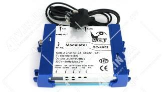 Модулятор Q-Sat GC-AV02